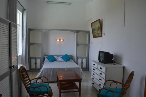 A room at Auberge Paille en Queue