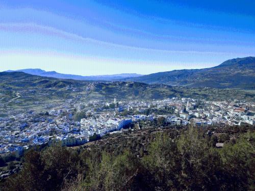 منظر Hotel Asmaa من الأعلى