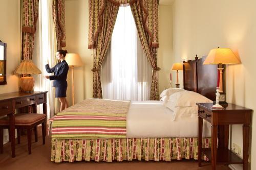 A room at Pousada Palacio de Queluz
