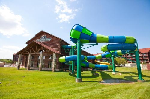 Children's play area at Great Wolf Lodge Kansas City