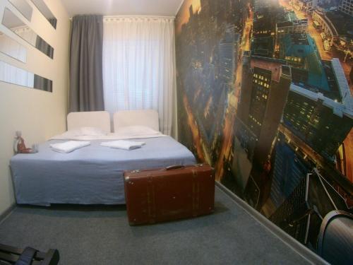 Кровать или кровати в номере Мини-отель Фонтанка 58