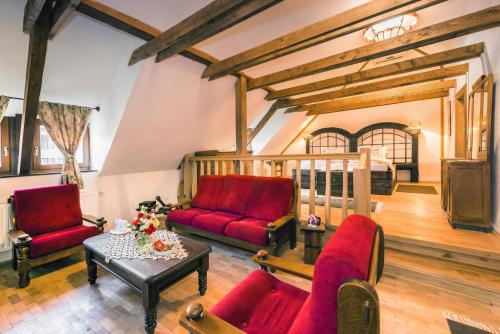 Zona de lounge sau bar la Casa Savri