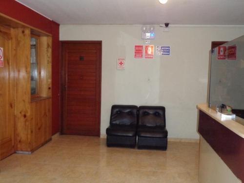 A seating area at Antares Inn
