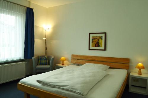 Ein Zimmer in der Unterkunft Hotel Brauhaus Weyhausen