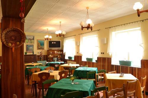 Restaurace v ubytování Pension Skalka