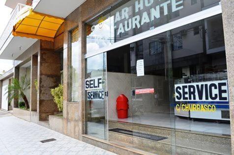 The facade or entrance of Solar Hotel