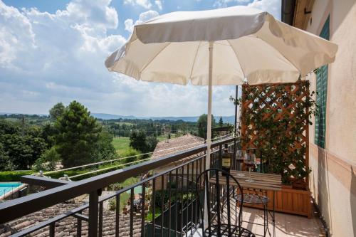 Un balcon sau o terasă la Villa Sant'Andrea