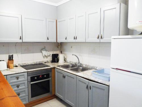 Una cocina o zona de cocina en Apartment Las Moras