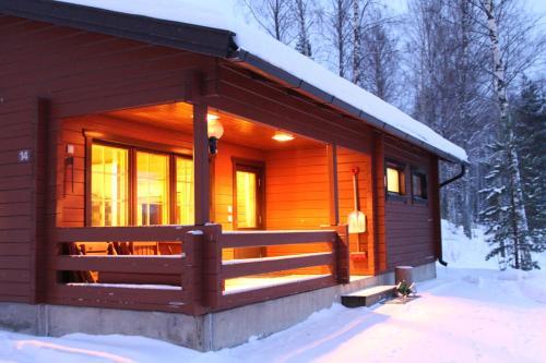Hapimag Ferienwohnungen Punkaharju in de winter