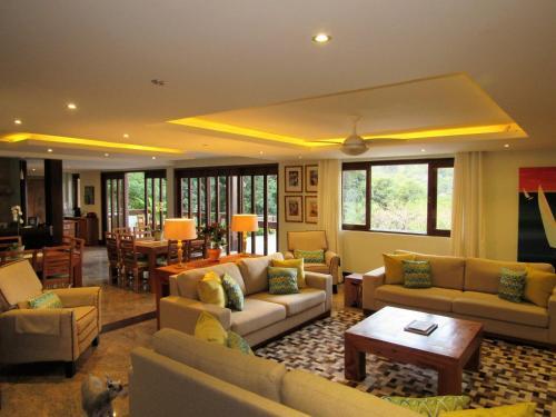 O lounge ou bar de Casa Verde