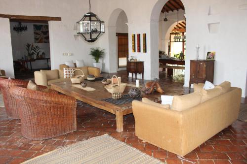 The lounge or bar area at Portal de la Marquesa