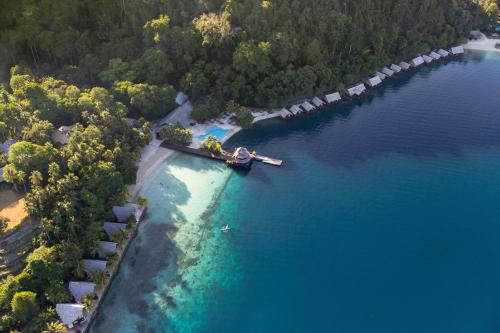 Pearl Farm Beach Resort с высоты птичьего полета