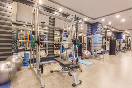 Fitnes centar i/ili fitnes sadržaji u objektu Sensitive Premium Resort & Spa