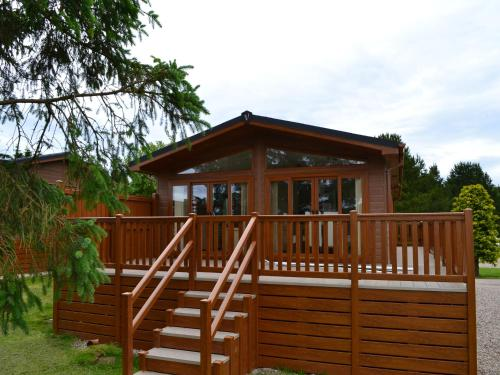 A patio or other outdoor area at Deeside Holiday Park