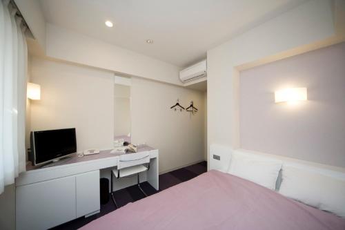 A room at Hotel Mid In Meguro Ekimae