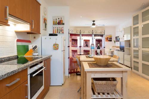 Una cocina o zona de cocina en Apartamento La Higuera