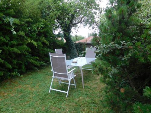 A garden outside La Chambre D'amis LA COSTIGNIERES