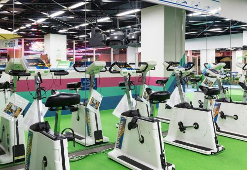The fitness center and/or fitness facilities at Hotel Resol Hakodate