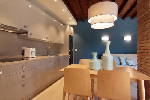 Una cocina o zona de cocina en Bibo Casa de los Neveros