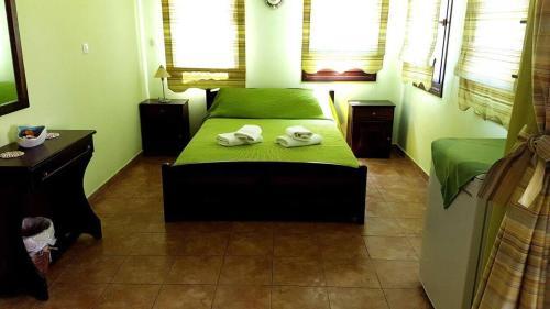 Ένα δωμάτιο στο Pension Anastasia