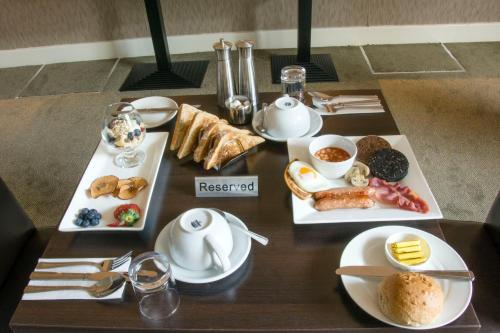 Coffee and tea-making facilities at Helix Hotel