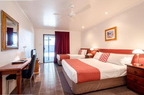 A room at Central Studio Accommodation