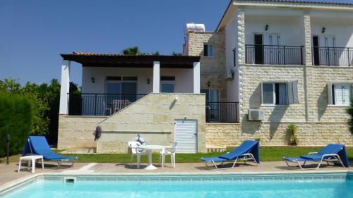 The swimming pool at or near Papas Villa 3
