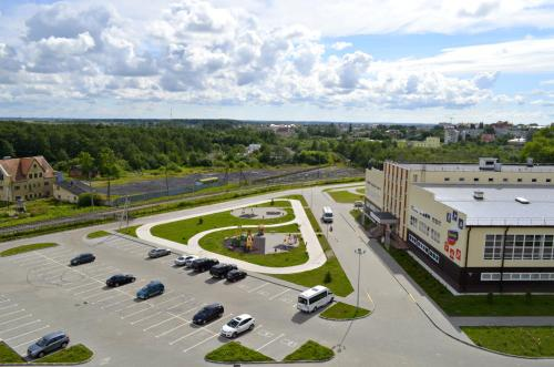 Апартаменты на Тургенева 10г с высоты птичьего полета