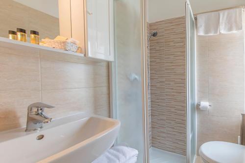 Un baño de Hotel Sorapiss