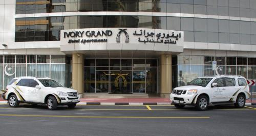 The facade or entrance of Ivory Grand Hotel Apartments