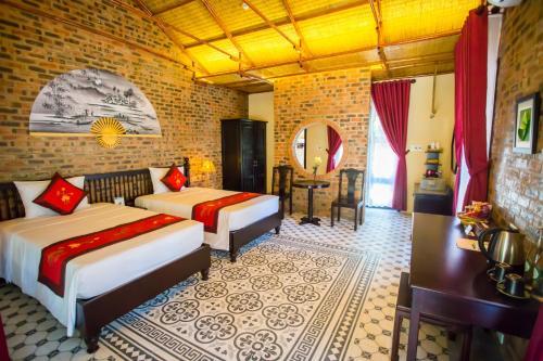 A room at Hue Ecolodge