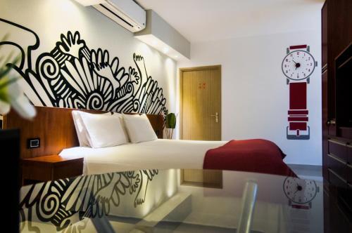 Una habitación de Apart Hotel Shoshana