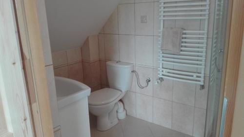 Łazienka w obiekcie Mazurskie Żurawisko