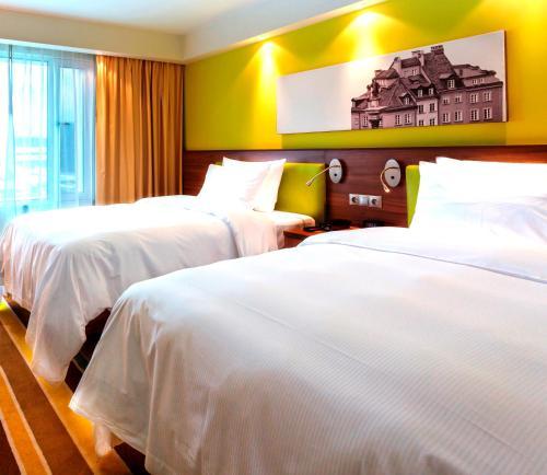 A room at Hampton by Hilton Warsaw City Centre