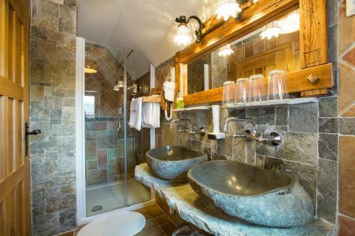 Łazienka w obiekcie Old Bled House