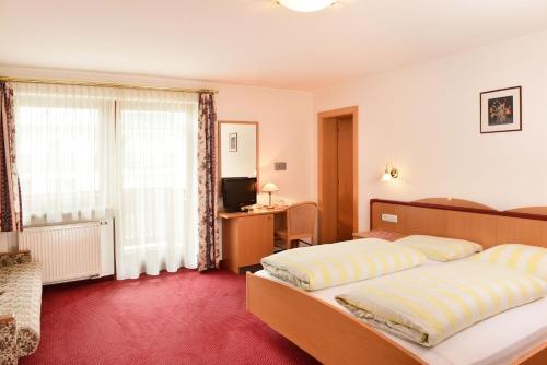 Ein Zimmer in der Unterkunft Hotel Waldrast