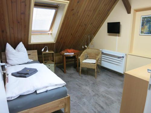 Ein Zimmer in der Unterkunft Gästezimmer Bluno