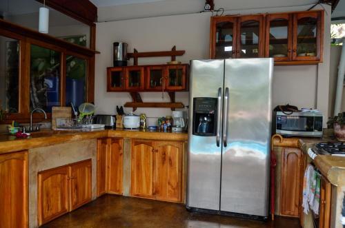 A kitchen or kitchenette at Nuestra Casa
