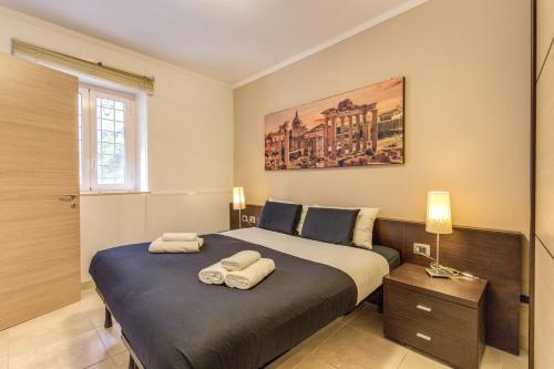 Ein Zimmer in der Unterkunft Aurelia Vatican Apartments
