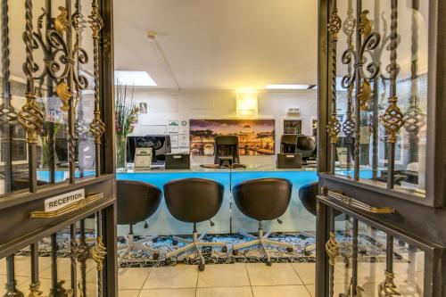 Lounge oder Bar in der Unterkunft Aurelia Vatican Apartments