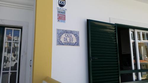 The facade or entrance of Casa da Gó