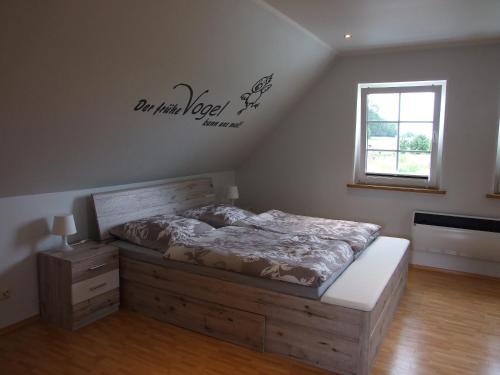 Ein Zimmer in der Unterkunft Ferienwohnung am Betschkamp