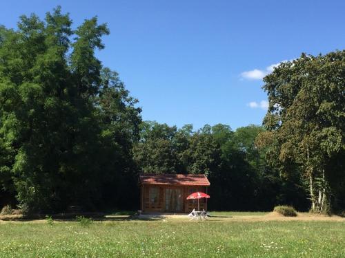 Jardin de l'établissement Le Domaine Du Pre Vert