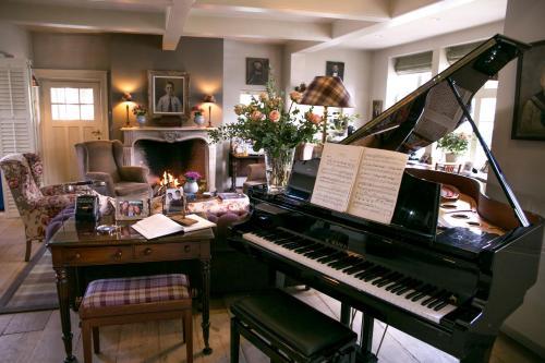 Restaurant ou autre lieu de restauration dans l'établissement Romantik B&B Zonnehuis