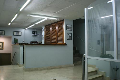 The lobby or reception area at Hotel Picos De Europa
