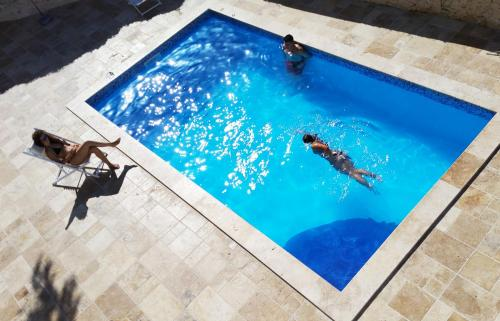 Vista de la piscina de Inhawi Boutique Hostel o alrededores