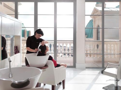 Staff members at Four Seasons Hotel Baku