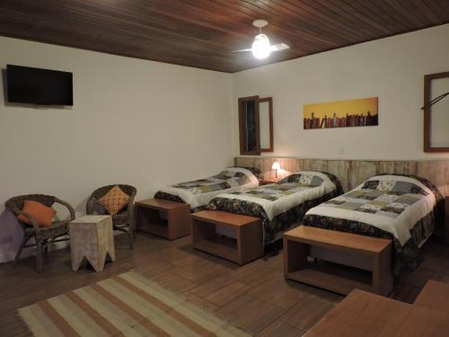 A room at Pousada Vilarejo do Quim