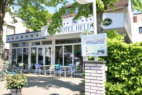 The facade or entrance of Hotel Heldt Dependance