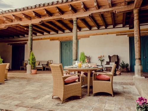 Terrasse ou espace extérieur de l'établissement Casa Lum